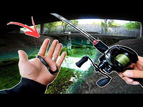 Fishing An URBAN CREEK - Does It Hold Fish? 🐊🏢 (Grand Slam!)