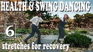 Health & Swing Dancing - Vídeo 6 - Estiraments per a la recuperació. (subt. CAST/ENG)