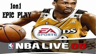 NBA Live08 GAME PLAY  L.JAMES vs T.DUNCAN   DUNKS   LAY UPS   HOOP SHOTS+DOWNLOAD LINK IN DESCp