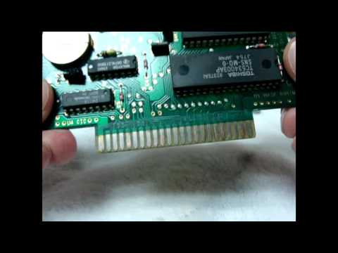How To Clean Rust, Oxidation, and Corrosion From Video Game Cartridges Nintendo Sega Etc.