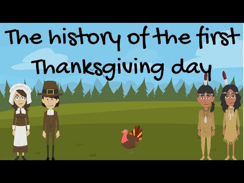 The History of The First Thanksgiving Day