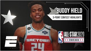 Buddy Hield beats Devin Booker on last shot in thrilling 3-point contest | 2020 NBA All-Star Weekend