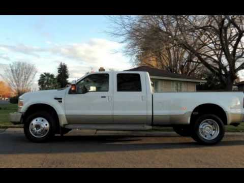 2008 ford f 450 super duty lariat king ranch for sale in for Zoom motors sacramento ca