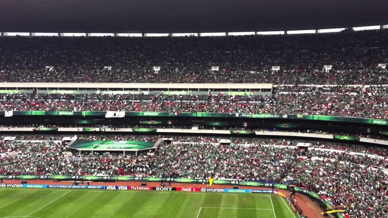 M xico vs uruguay final copa mundial sub 17 estadio for Puerta 1 estadio azteca