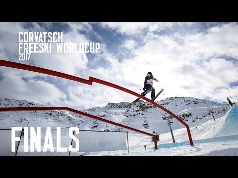 FIS Freeski Worldcup Corvatsch 2017 - Finals: Top 2 Runs Men
