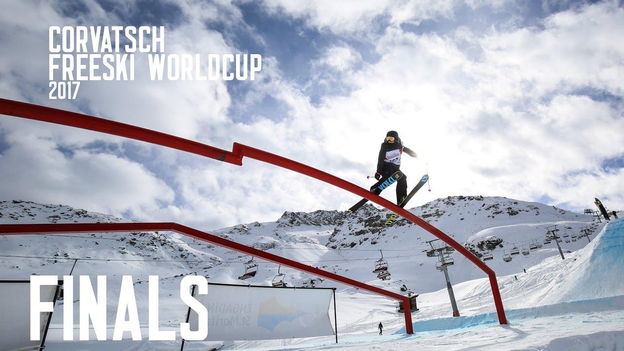 FIS Freeski Worldcup Corvatsch 2017 - Finals: Top 2 Runs Men & Women
