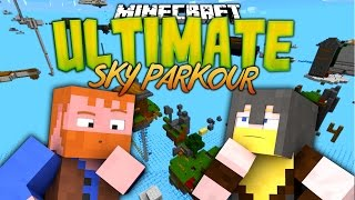 Minecraft: ULTIMATE SKY PARKOUR (Dumb and Dumber)