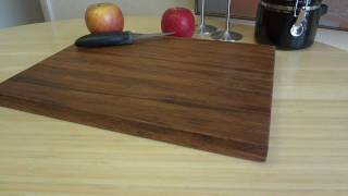 Carbonized Strand Woven Bamboo Cutting Board