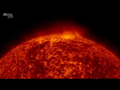 The most satisfying video in the world 2016 (or Out of it!!) The Sun close up - stunning views