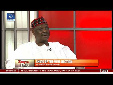 Why I Stayed Away From Kano  Rabiu Kwankwaso Sunrise Daily