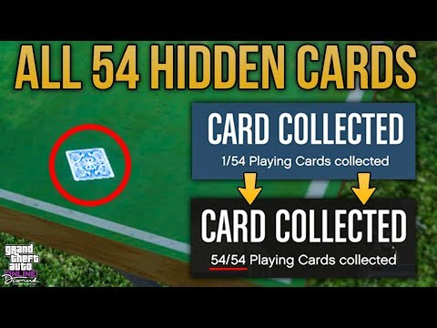 GTA Online Diamond Casino Update - ALL 54 HIDDEN CARD COLLECTIBLES + LOCATIONS (Easy Guide)