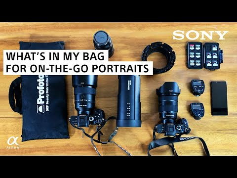 Portrait Photography Essentials For On-The-Go Photographers | Brian Smith | Sony Alpha