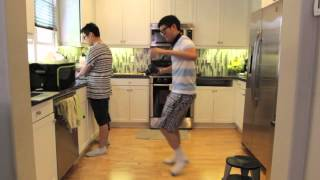 "Funtimes with ""Gangnam Style"" at home"