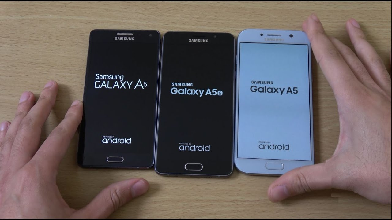 Samsung Galaxy A5 2017 Vs A5 2016 Vs A5 2015 - Speed Test