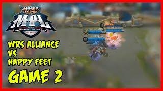 MPL-PH Game3 | Happy Feet vs WRS Alliance - Mobile Legends