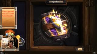 Strit Plays On Linux #21: Hearthstone Pack Opening