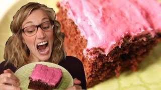 Chocolate Beet Cake With Beet Frosting Recipe: How To Make Valentine Day Cake