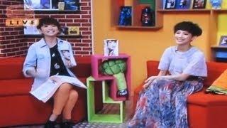 戴佩妮 8tv live 八八六十事 - 09/07/2013