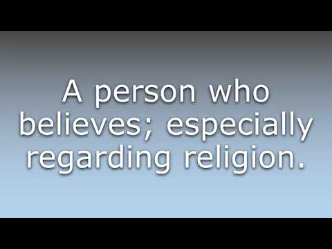 What Does Believer Mean?