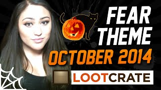 "Lootcrate Unboxing ""Fear"" Theme with MsHeartAttack (October 2014)"