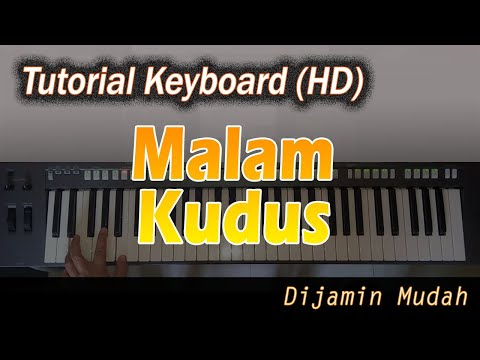 [Chord Keyboard] MALAM KUDUS - Belajar Lagu Natal