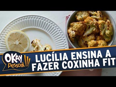 Okay Pessoal!!! (16/05/16) - Lucília Diniz ensina a fazer Coxinha Fit