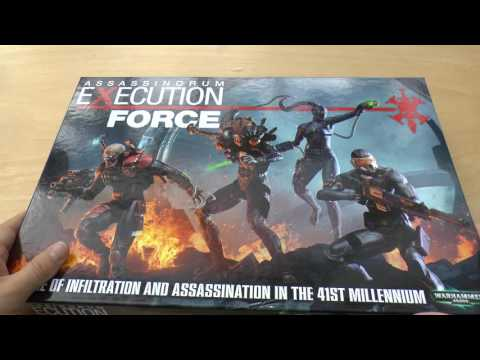 Assassinorum Execution Force - Unboxing & Review (WH40K)