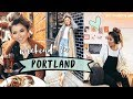 PORTLAND Vlog + OOTD | Travel Vlog Outfit of the Day Diary | Miss Louie