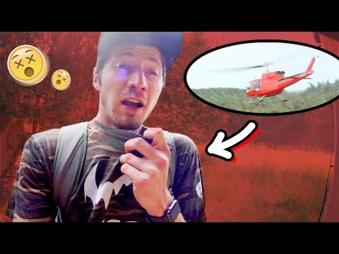 Warum Paluten & ich mit dem Hubschrauber abgeholt werden mussten..