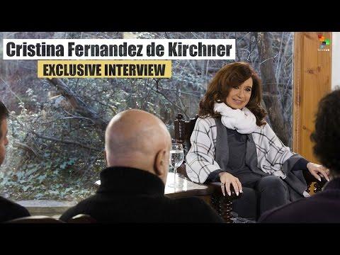 Cristina Fernandez de Kirchner: Exclusive Interview