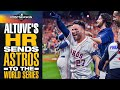 José Altuve SENDS ASTROS TO WORLD SERIES With 2-run Home Run!