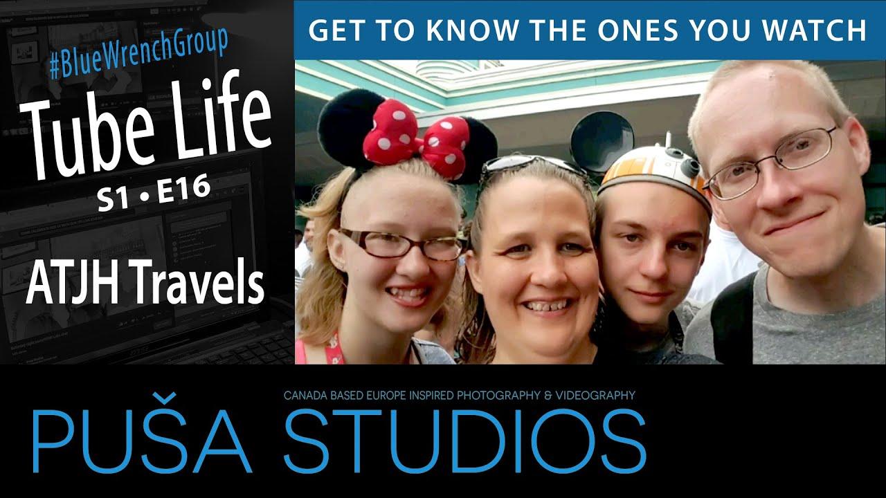 ATJH Travels | Tube Life S01 * E16  on Puša Studios