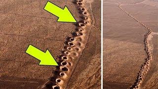 Эти странные дыры нашли в пустыне. Вот для чего они нужны...