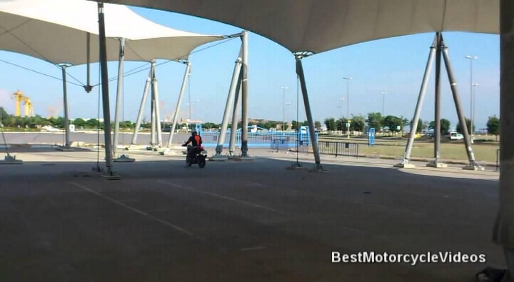KTM Duke 200 Brake Test