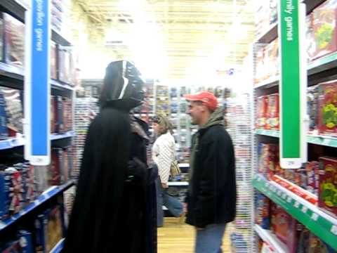 Darth Vader At Toys R US
