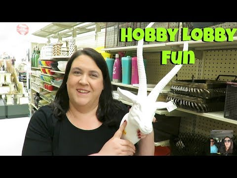Come Shop With Us @ Hobby Lobby Where Paul Is A Nut | PaulAndShannonsLife