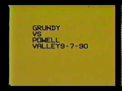 1990 Powell Valley High School Football - Grundy High School Football