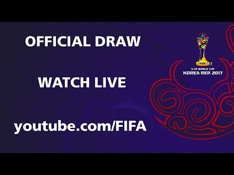 COMING SOON - Official Draw - FIFA U-20 World Cup Korea Republic 2017