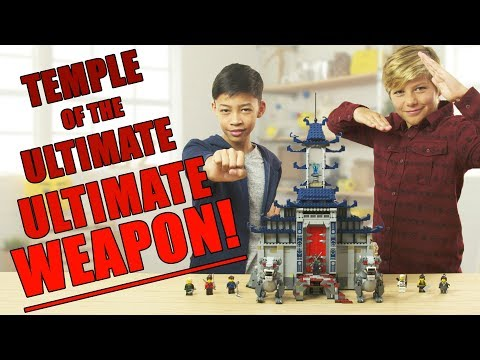 LEGO NINJAGO Temple of the Ultimate Ultimate Weapon Review - The Build Zone