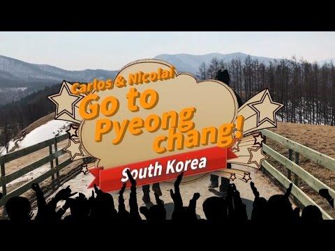 Carlos and Nicolai go to PyeongChang,South Korea EP01 Special Food For U