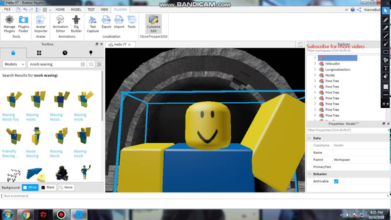 how to make a game intro roblox