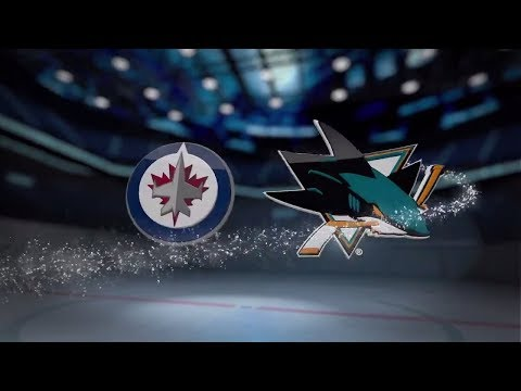 Winnipeg Jets vs San Jose Sharks - November 25, 2017 | Game Highlights | NHL 2017/18. Обзор матча