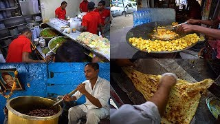 Indian Street Food Scene 2017 | Most Amazing Street Food Videos YouTube Rewind