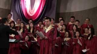 Trời Gieo Sương Xuống - Ca Đoàn Hồng Ân hát Grotto