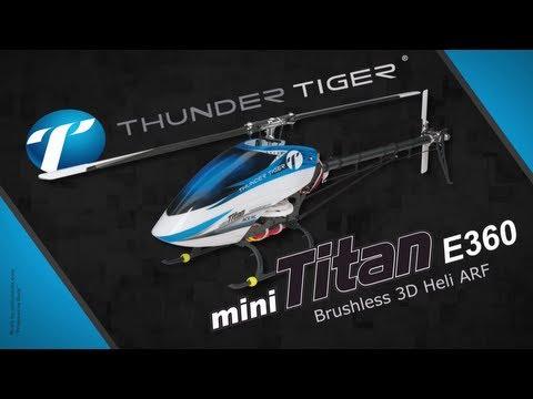 Spotlight: Thunder Tiger Mini Titan E360 Brushless 3D ARF