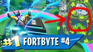 FORTBYTE #4 in Fortnite ? Accessible by passing rings on Balsa Botin with Lasla Plasma Road