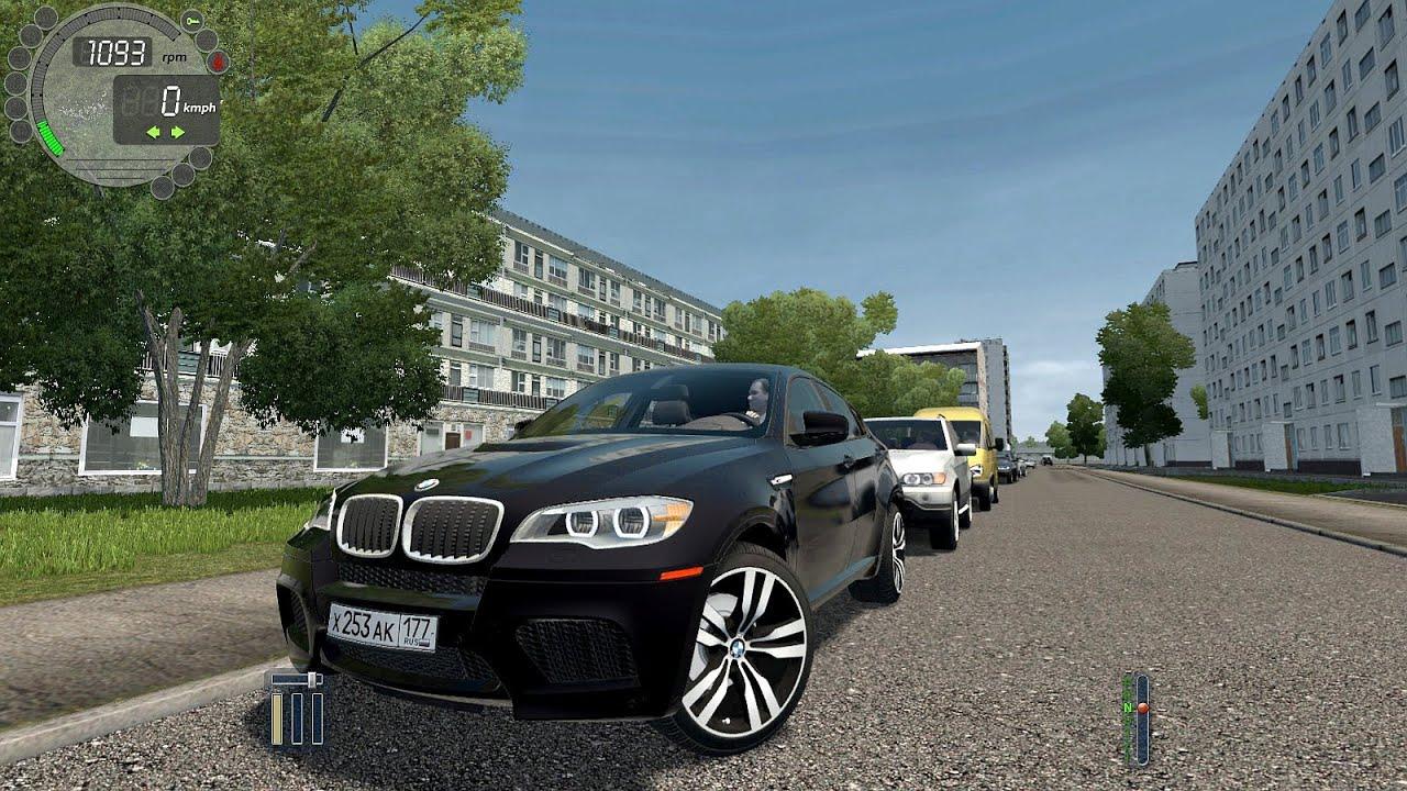 City Car Driving 1.5.9 - BMW X6 30d [Logitech Wheel]