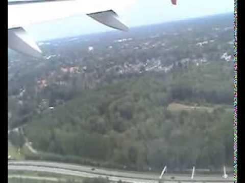 Air Berlin Flug AB6659 Hamburg nach Stuttgart Taxi Takeoff Landing Airbus A319 D-ABGI 14.09.08