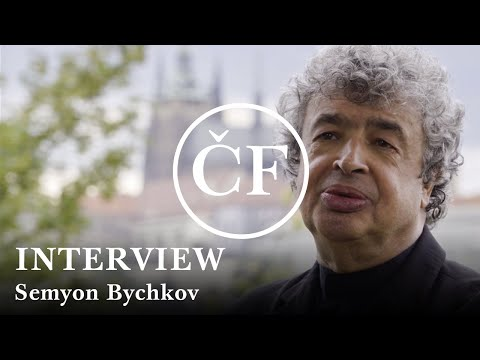 Semyon Bychkov & Czech Philharmonic - The Inaugural Tour - Interview