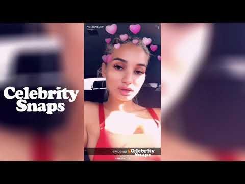 Pia Mia Snapchat Stories | January 2018 Full |